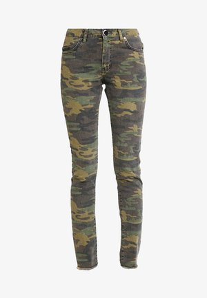 MILITARY MOONCHILD - Slim fit jeans - coloured denim/khaki