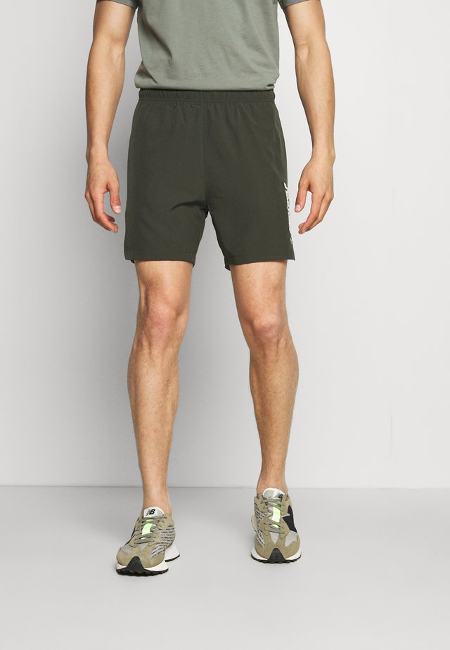 WARRIOR SHORTS - Short de sport - olive