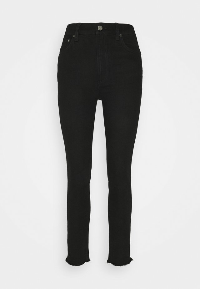 ZACHARY HIGH RISE SKINNY - Jeans Skinny Fit - black beauty