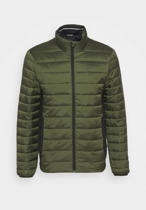 LIGHT WEIGHT SIDE LOGO JACKET - Light jacket - dark olive