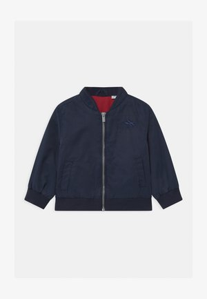 Bomber Jacket - blue/red