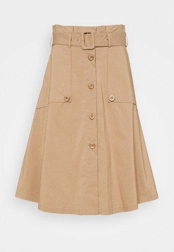 FANCY SKIRT - A-line skirt - desert