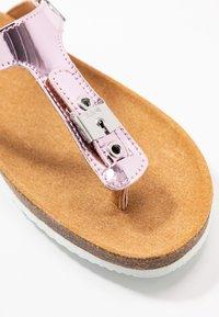 Scholl - BIMINOIS - T-bar sandals - rose - 2