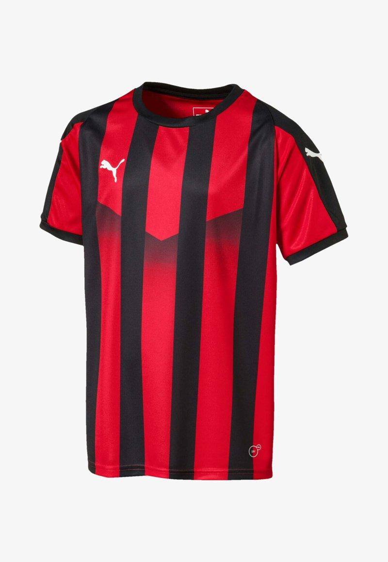 Puma - LIGA  - Print T-shirt -  red