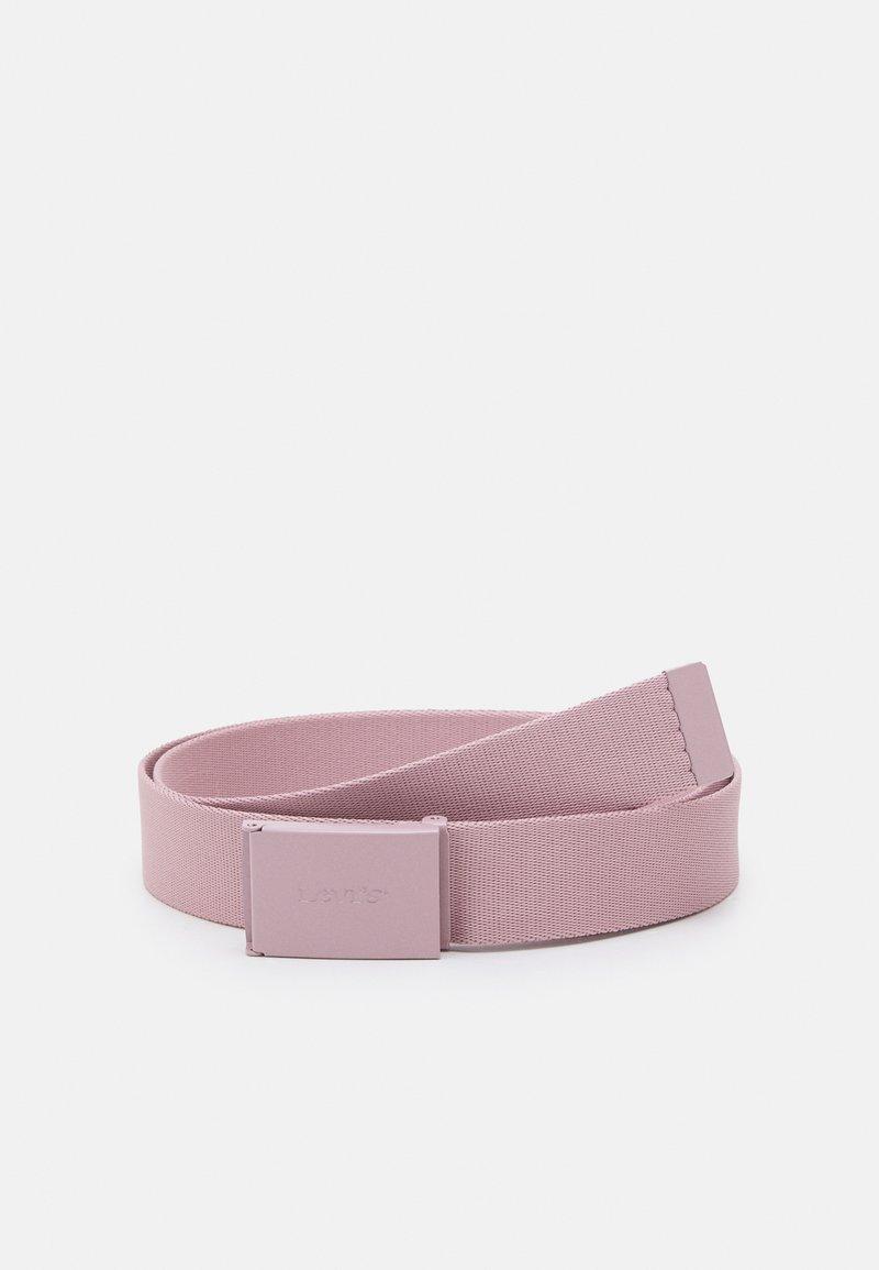 Levi's® - WORDMARK BELT UNISEX - Belt - light purple