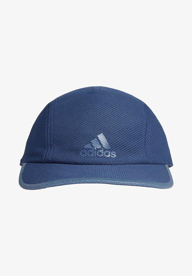 "ADIDAS PERFORMANCE HERREN LAUFMÜTZE ""RUNNER MESH CAP AEROREADY"" - Cap - blue"