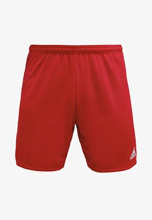 PARMA PRIMEGREEN FOOTBALL 1/4 SHORTS - Pantalón corto de deporte - power red/white
