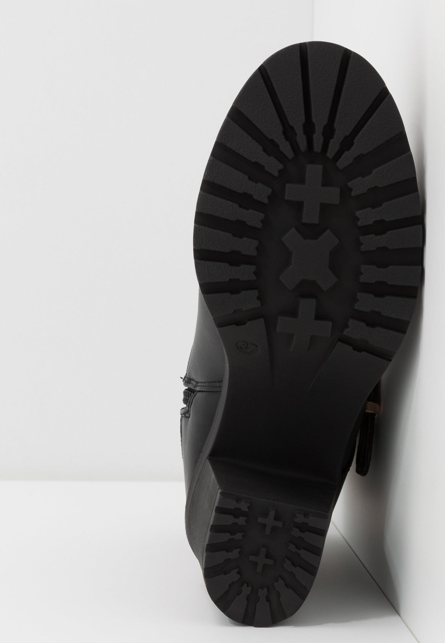 Anna Field Wide Fit Plateaustiefelette - black | Damen Schuhe 2020