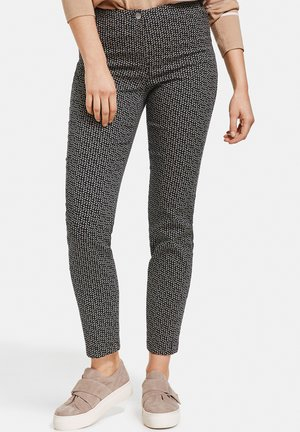 Trousers - schwarz/toffee/ivory