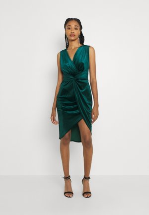 CAILY DRESS - Cocktail dress / Party dress - dark green