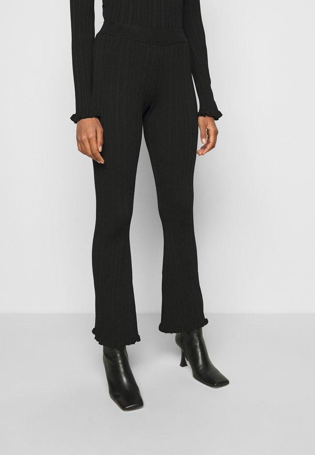 DAHLIA TROUSER - Pantalon classique - black