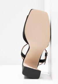 Office - HUSKY - Sandály na vysokém podpatku - black - 6