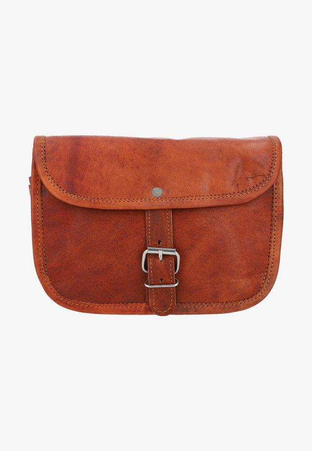 Across body bag - braun