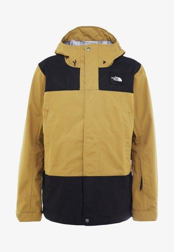 UNI TRIED AND TRUE JACKET - Ski jacket - british khaki/black