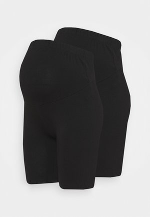2 PACK  - Shorts - black/black