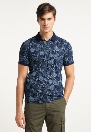 Polo shirt - dark indigo