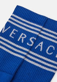 Versace - CALZE - Socks - bianco/bluette - 1