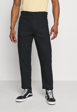 FANON TROUSERS - Trousers - black