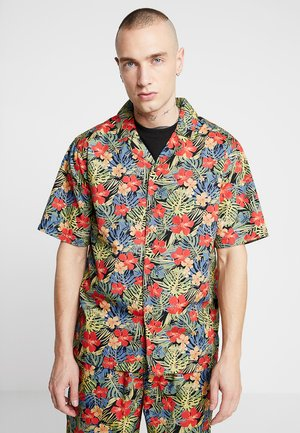 PATTERN RESORT - Shirt - black/tropical