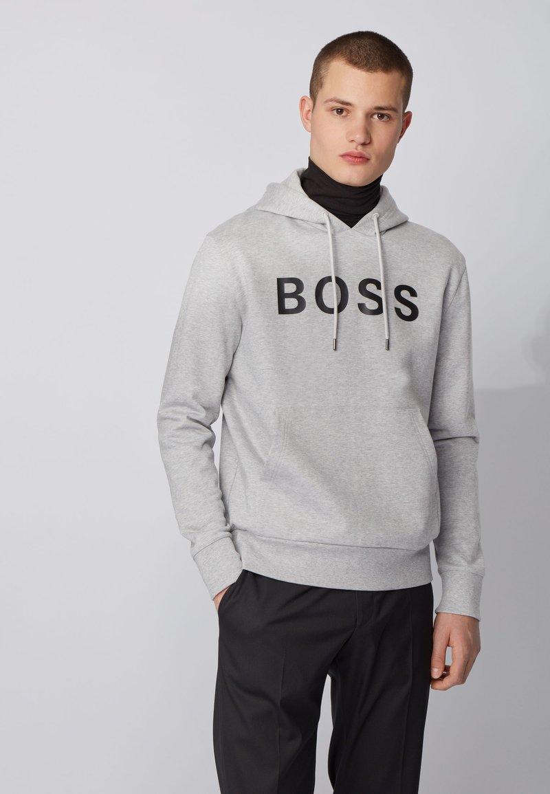 BOSS - SEEGER  - Kapuzenpullover - open grey