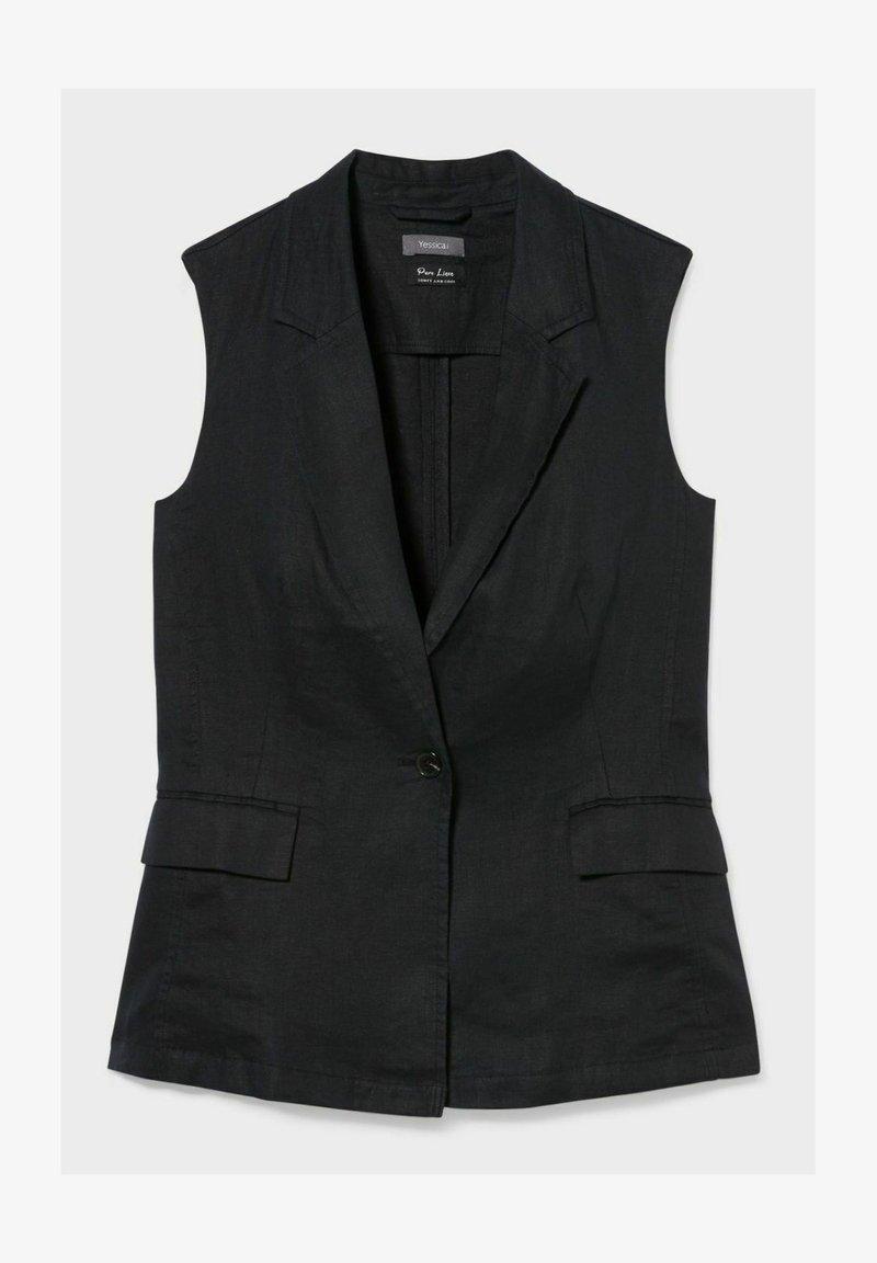 C&A - Waistcoat - black