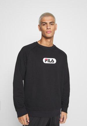 BAHA RAGLAN CREW - Sweatshirt - black