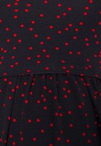 Envie de Fraise - LIMBO - Jersey dress - navy blue base/red - 2