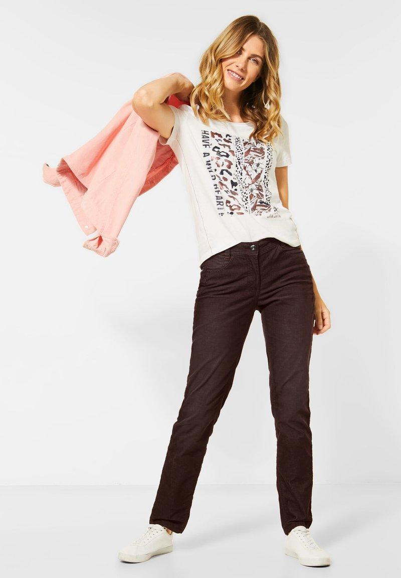 Cecil - Slim fit jeans - braun