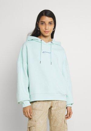 SMALL SIGNATURE HOODIE - Sweatshirt - mint