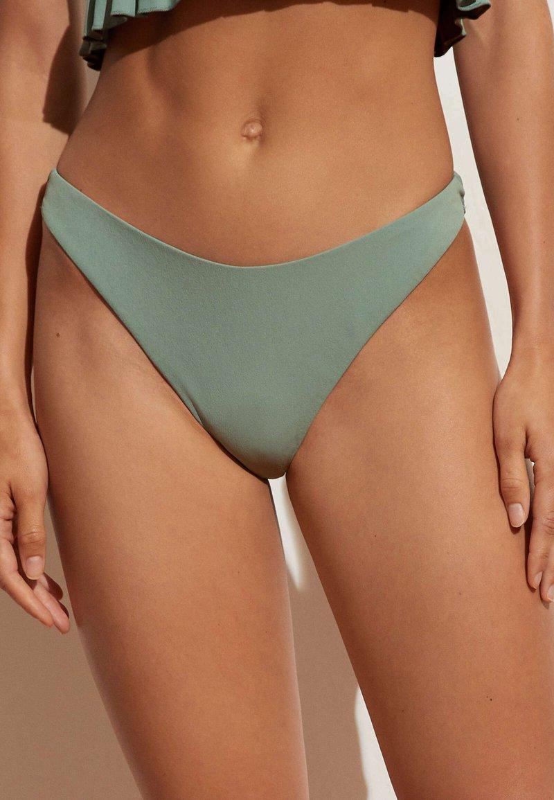 OYSHO - Bikini bottoms - light green