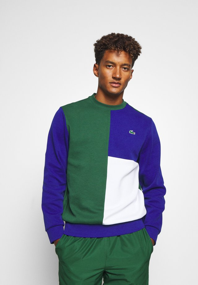 BLOCK - Sweater - green/cosmic white