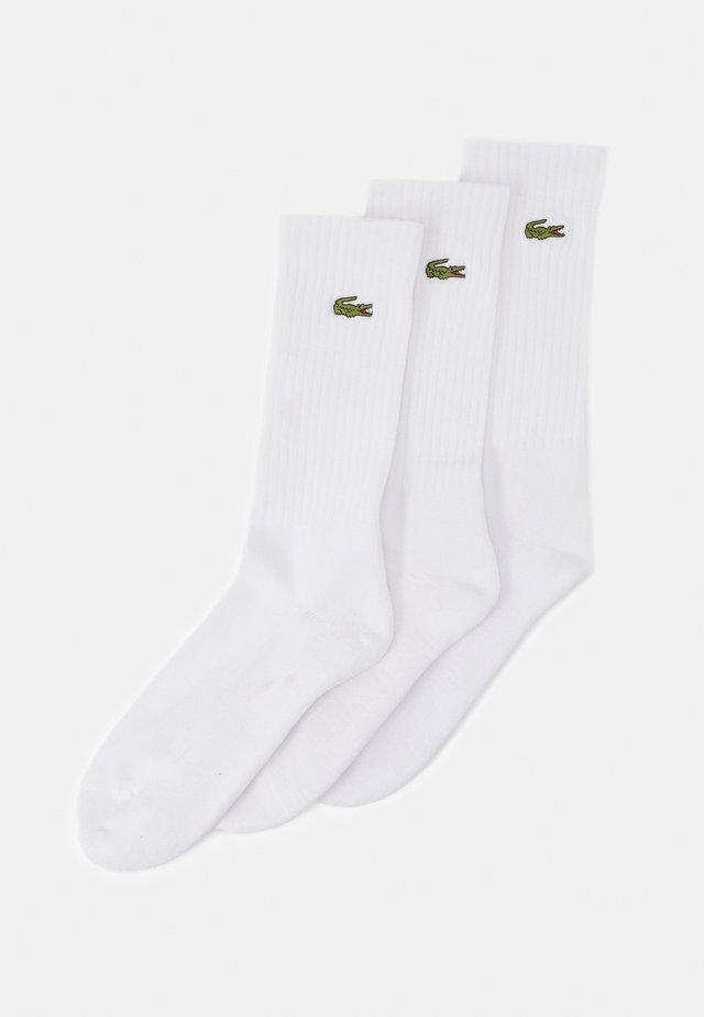 TENNIS SOCK 3 PACK UNISEX - Chaussettes de sport - white