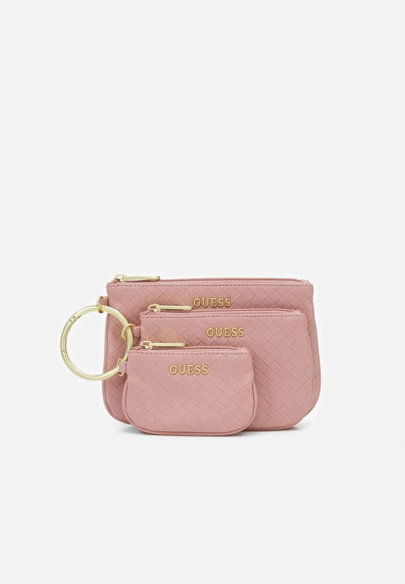 Guess - EMELYN MULTI POUCH 3 PACK SET - Wash bag - rose multi