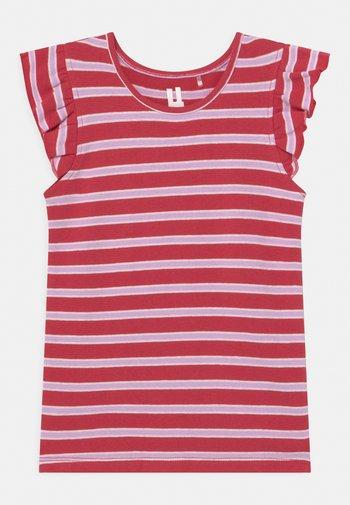 KAIA - Print T-shirt - red