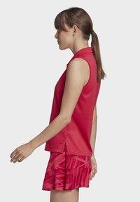 adidas Performance - TENNIS MATCH TANK TOP HEAT RDY - Polo shirt - pink - 4