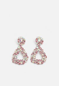 Pieces - PCSASA EARRINGS  - Earrings - silver-coloured/rose-clear - 0