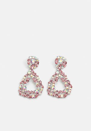 PCSASA EARRINGS  - Earrings - silver-coloured/rose-clear
