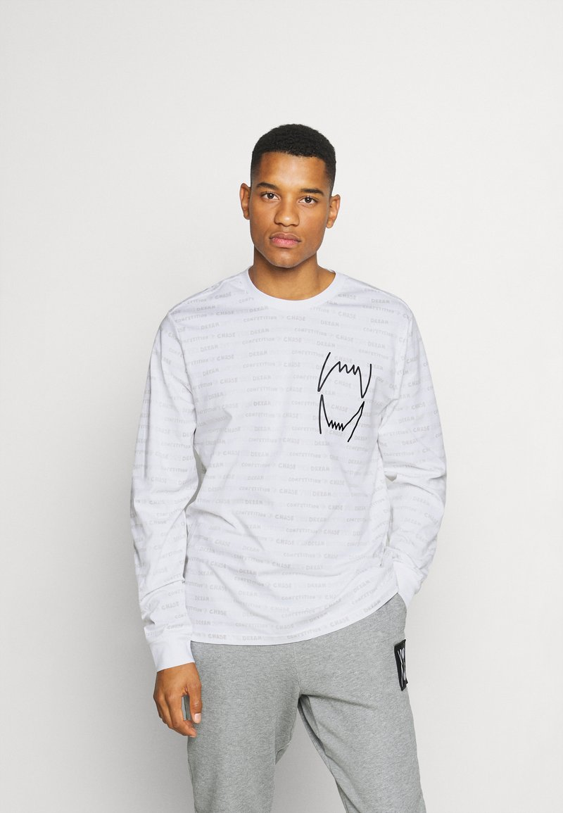 Puma - HOOPS TEE - Long sleeved top - white