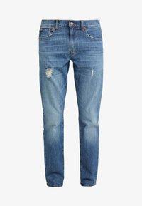 J.CREW - Slim fit jeans - tinted medium indigo wash - 4