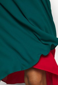 Who What Wear - ASYMMETRIC LAYERED SKIRT - A-lijn rok - jade/siren - 4