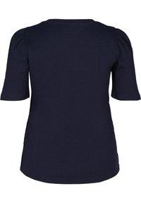 Zizzi - Print T-shirt - blue - 4