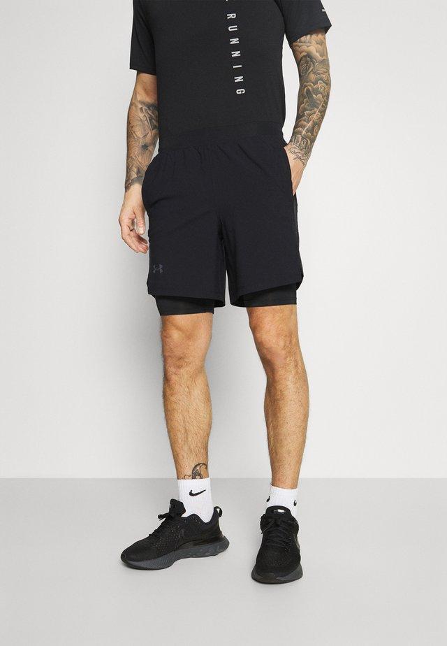 LAUNCH SHORT - Sports shorts - black