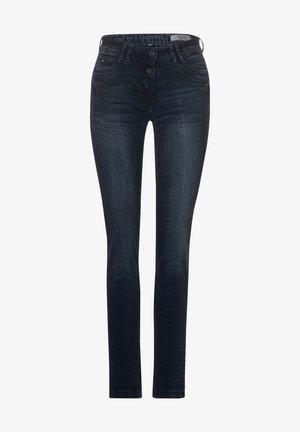 MIT DEKO - Jeans Skinny Fit - blau