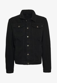 Common Kollectiv - PLUS DISTRESSED JACKET - Denim jacket - black - 5