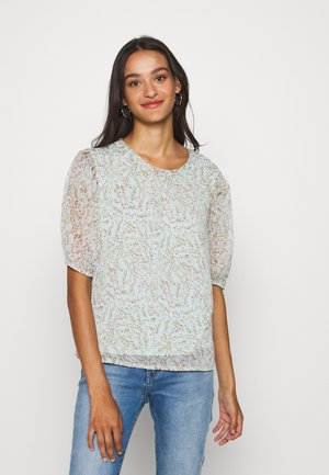JDYNELLY PUFF  - Blouse - blue haze