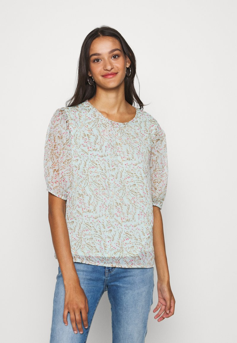 JDY - JDYNELLY PUFF  - Blouse - blue haze