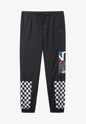 MN DIMENSION TRACK PANT - Tracksuit bottoms - black