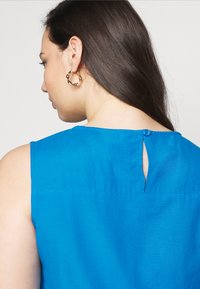 CAPSULE by Simply Be - CROCHET SHIFT DRESS - Day dress - azure blue - 5