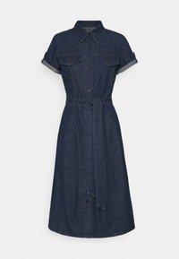 Anna Field - Denim dress - dark blue denim - 0