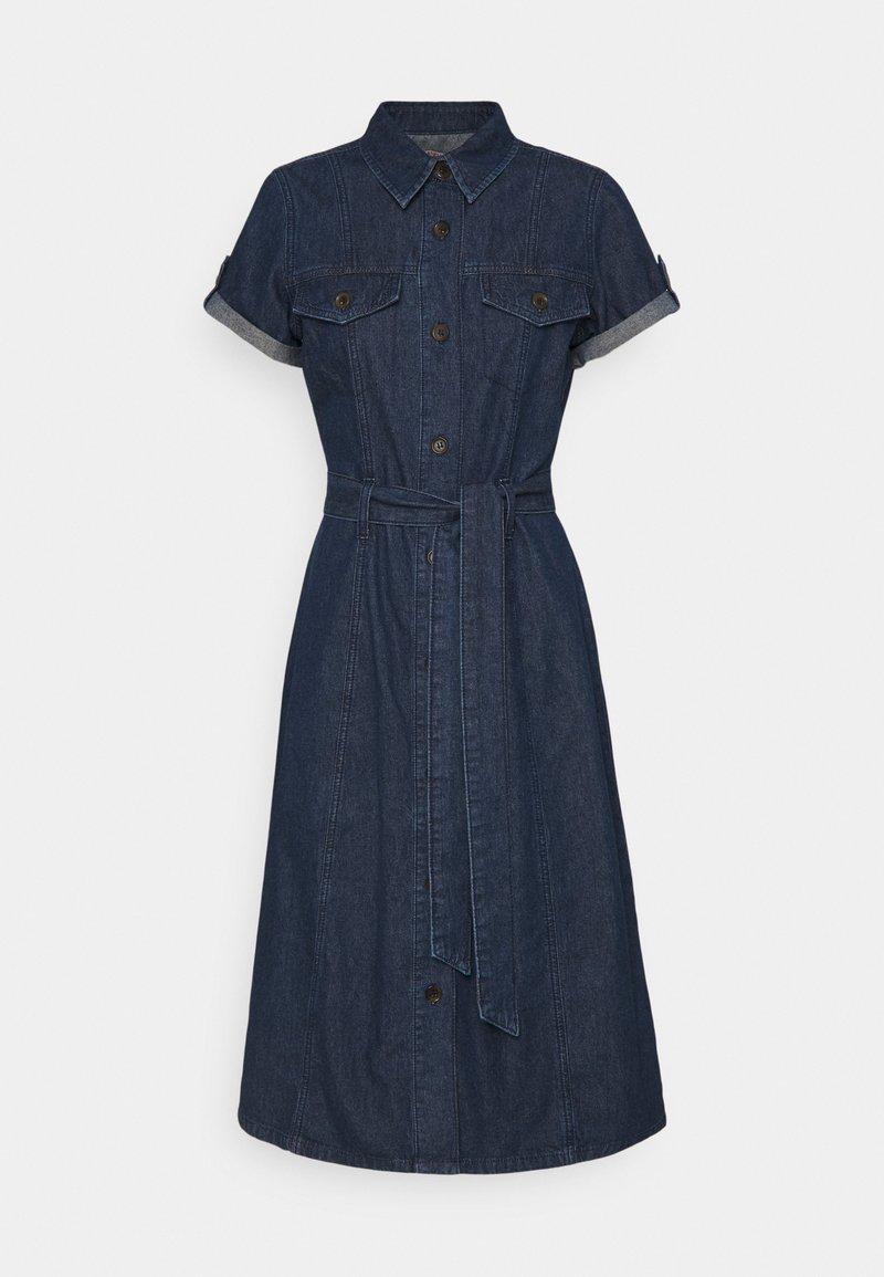 Anna Field - Denim dress - dark blue denim